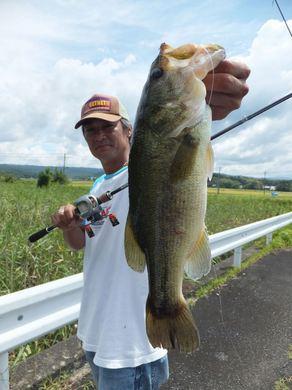 三重の野池で釣れる 9月2日.JPG