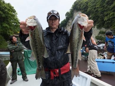 亀山ダムで優勝.JPG