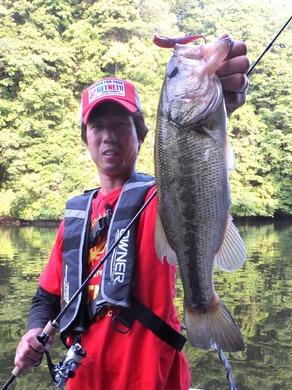 亀山ダムで釣れるワーム 6月.JPG