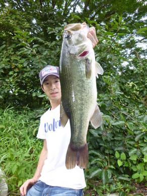 夏の東幡野池で51cm.JPG