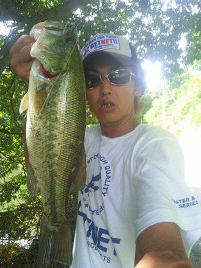 夏の野池で釣れる 7月19日 1.jpg