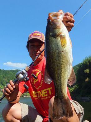 布目ダムで釣れる9月26日.JPG