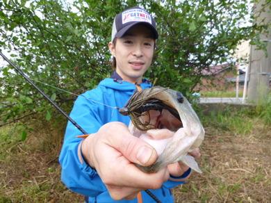 東幡野池で釣れるルアー.JPG