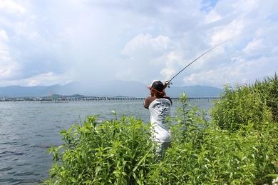 琵琶湖でオカッパリするポイント.JPG