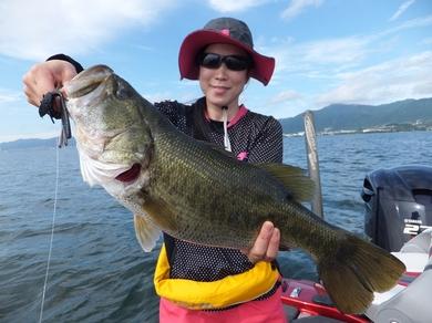 琵琶湖でガイド.JPG