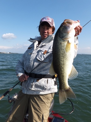 琵琶湖でジグヘッド釣れる.JPG