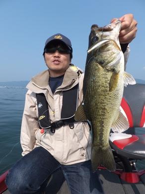 琵琶湖でヘビダン釣れる5月27日.JPG