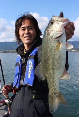 琵琶湖で直リグ釣れる.JPG