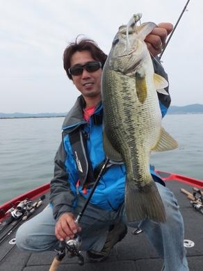 琵琶湖で釣れる直リグ6月.JPG