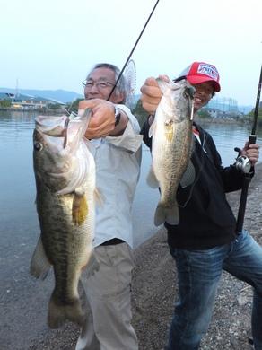 琵琶湖オカッパリで50UP 4月29日.JPG