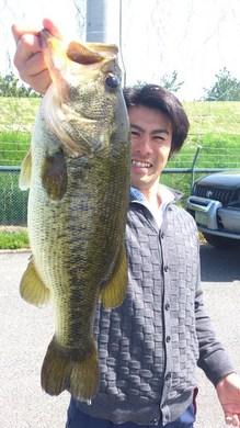 琵琶湖オカッパリで52cm 4月28日.jpg