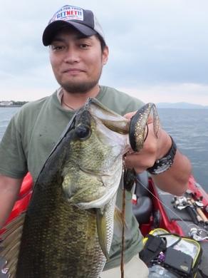 秋の琵琶湖で釣れるリグ.JPG