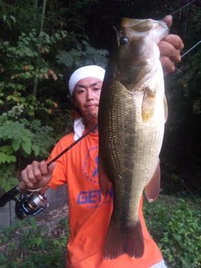 秋の野池は釣れる 9月13日.jpg