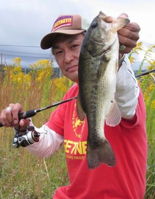 野池で釣れる 10月28日.JPG