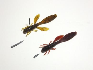 野池で釣れるネコリグ.JPG