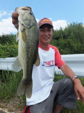 野池で釣れるリグ 直リグ.JPG