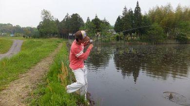 野池で釣れる釣り方 5月9日.JPG