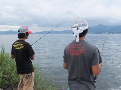 釣れる琵琶湖東岸オカッパリ.JPG