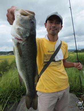 釣れる野池.JPG