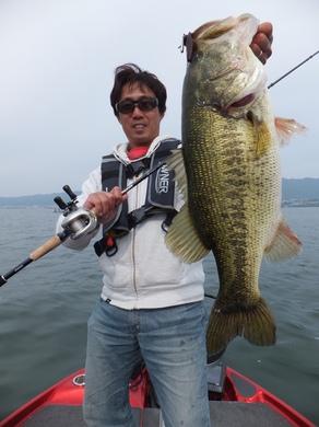 5月の琵琶湖 エクスプライド168MH.JPG