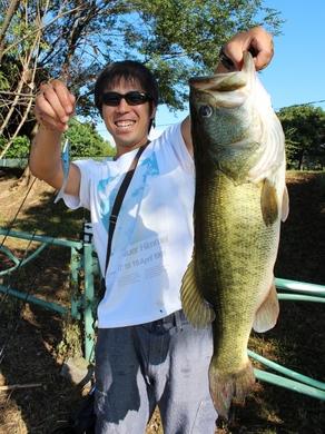 6  琵琶湖オカッパリでロクマル 8月.JPG