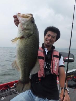 7月の琵琶湖 直リグ.JPG