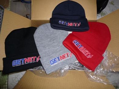 GETNETのニット帽.JPG